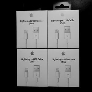 4x Apple lightning USB Charger Cable For iPhone